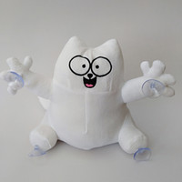 Wholesale car sucker toys for sale - Group buy 25CM Simon s Cat Cartoon Plush Toys Stuffed Doll Car Pendant Big Sucker Soft Home Decor Triver Animal Children Gifts