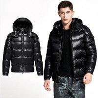 jaqueta de designer unissex venda por atacado-M1 marca dos homens jaqueta de inverno anorak popular jaqueta de inverno de alta qualidade quente plus size homem para baixo unisex casaco quente de inverno outwear