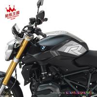 motosikletler için desal kitleri toptan satış-BMW Motorrad R1200R 2015-2017 kiti tankı pedleri Motosiklet Decal Sticker Su Geçirmez M 24
