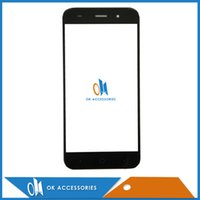 Wholesale z7 for sale - Group buy Black White Color Inches For ZTE Blade Z7 X7 V6 D6 T660 T663 outer glass front glass lens Digitizer PC