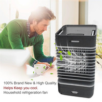 lüfterkühler großhandel-Mini Conditioner Lüfter Klimaanlage Lüfter Tragbare Lüftung Klimaanlage Gebläse Lüfter Home Office 110-240V Auto
