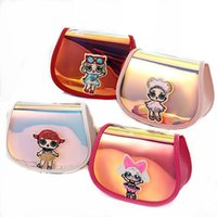 Wholesale shoulder bags for kids for sale - Group buy new Sequins backpack kids toys cartoon dolls storage bags Birthday Party Favor for Girls Gift Shoulder Bag receive shopping package zx001