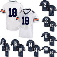 9a9ec43ea Custom Auburn Tigers Football College jersey Dansby Nick Fairley Nick  Marshall Sammie Coates PRISSY 1 Kerryon Johnson 21 Mens Womens Kids