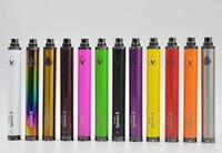 Wholesale vision mini spinner ii resale online - Vision Spinner II Twist Battery mah Capacity VV Mini V Voltage E Cigarette Vape Pen Ego EVOD Thread