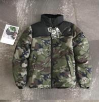 abajo chaquetas unisex al por mayor-Diseñador homme chaquetas para hombre por la chaqueta de lujo de las mujeres Ropa para hombre Windbreakers abajo cubre la marca unisex chaquetas de los hombres Escudo 001 diseñador