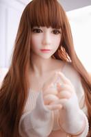 brinquedo de silício masculino venda por atacado-Real bonecas sexuais de silicone bonecas do amor tamanho de vida japonês masculino bonecas sexuais mama macia boneca de silicone realista brinquedos sexuais para homens