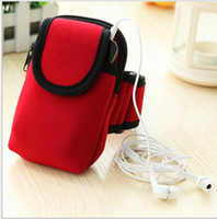 Wholesale arm bag running for sale - Group buy Outdoor fitness exercises running arm bag sport waist pack mobile phone bag arm bang outdoor bag accessorie arm bags