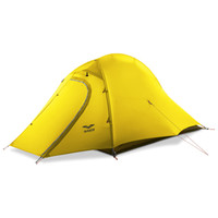 MIER 1-person & 2 Person Camping Tent with Footprint Waterproof Backpacking Tent, Lightweight & Quick Setup, 3 Season 4 Season