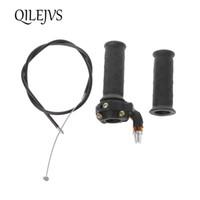 Wholesale mini dirt quad resale online - Twist Throttle Accelerator Grip Cable For cc cc Mini Dirt Bike Quad Pocket