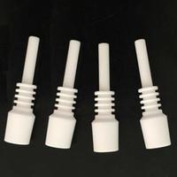ingrosso le punte del chiodo forniscono il trasporto veloce-Mini chiodo in ceramica da 10 mm in ceramica dabber maschio in ceramica da spedizione veloce per kit NC di paglia Dab