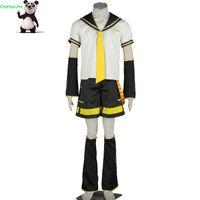 cosplay de navidad vocaloid al por mayor-CosplayLove Vocaloid Kagamine Len cosplay por encargo para Halloween Navidad