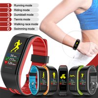 neue samsung wasserdicht großhandel-Neue T30 Smart Band USB Aufladung für iPhone Samsung Herzfrequenz Fitness Tracker IP68 wasserdicht Smart Armband Blutdruck-Armband