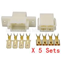 Wholesale automotive pin connectors resale online - 5 Sets Pin Automotive Connectors Composite Connectors Automotive Wire Harness Plugs High DJ7041