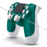 controlador para juegos al por mayor-Controlador inalámbrico Bluetooth para PS4 Vibration Joystick Gamepad Game Controller para Sony Play Station con caja al por menor