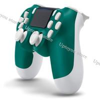bluetooth kablosuz oyun denetleyicisi joystick toptan satış-Kablosuz Bluetooth Denetleyicisi PS4 Titreşim Joystick Gamepad Oyun Denetleyicisi için Sony Play Station için Perakende kutusu ile