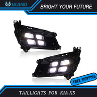 ingrosso luci diurne di giorno di kia-Dell'automobile LED Daytime Running Light per KIA K5 Optima 2013 2014 2015 Daylights Con Fendinebbia