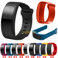Wholesale gear fit watches online – Replacement Bands for Samsung Fit Smart Watch Elastomer Strap Silicone Wristband for Samsung Gear Fit SM R360 Fitness
