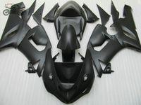 kits de corpo para kawasaki zx6r venda por atacado-Matte Black Carroçaria carenagem kit de carenagens Kawasaki ZX6R 2005 2006 Ninja 636 ZX6R 05 06 partes do corpo ABS de plástico