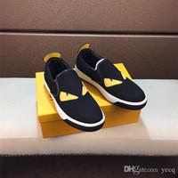 iş rahat iş ayakkabıları erkekler toptan satış-2018 Moda Yüksek Kaliteli Tuval Rahat Beyaz Ayakkabı Erkek Brogue Ayakkabı Loafer'lar Adam iş iş erkek ayakkabı