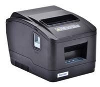 laser usb venda por atacado-Supermercado térmico do recibo do xprinter de 80mm