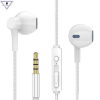 Wholesale android usb microphone online - P7 Stereo Bass HIFI Music Earphone In Ear Wired Earbuds With Microphone earphones For Xiaomi Android IOS Mobile
