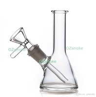 Wholesale glass pips for sale - Group buy Glass Bong Bubbler Bongs with Bowl or Banger hookah Simulate bird for oil rigs dab rig heady herb Mini Glass Beaker Bong Water Pip