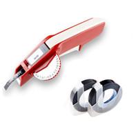 ingrosso etichette dymo-Dymo 1610 Manual Label Maker per 3D Embossing Plastic 1610 Stampanti manuali di etichette per macchine Dymo facili da realizzare