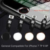conector wifi de iphone al por mayor-Universal Home Button Flex para iPhone 7 7p 7G 7plus 8G 8 8p 8plus Solución de retorno Solucionar la huella digital Desbloquear problema Tecla táctil ID