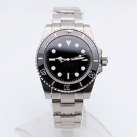 Wholesale new locks for sale - Group buy Dive Watches Mens Automatic m Black No Date Watches Glide Lock Clasp Ceramic Bezel Chrono Date Stainless Steel Orologio Di Lusso Do