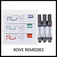 Wholesale vapor tanks for thick oil for sale - Group buy Newest Rove Remedies Vape Cartridge ml Disposable Tank Carts for Thick Oil Vapor