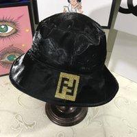 sombreros parpadeantes al por mayor-FF Imprimir Visera Sombrero para el sol Moda Diamante Pescador Cubo Casquillo Casual Blink Fiesta Sombrero Deporte de playa al aire libre Viajar Sombrero para el sol LJJT885