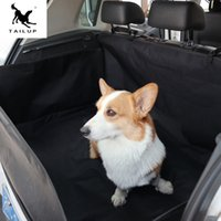 umweltfreundliche matte großhandel-Haustier Matten Auto Hund Sicherheit Pad Faltbare Kofferraummatte Oxford Katze Kennels Pads Wasserdichte Auto Hund Liefert YW2355