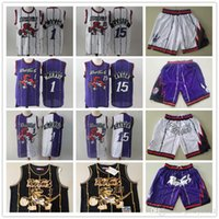 maillots de basket or noir achat en gros de-Hommes Toronto