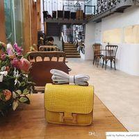 küresel sanat toptan satış-Timsah derisi moda tasarımcısı kadın çanta romantik RETRO sanat tarzı Crossbody Çanta zarif sade omuz Küresel Sınırları 324 DXZ