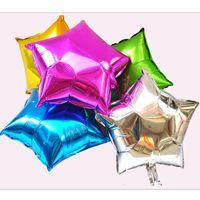 ingrosso palloncini della luna-Sfogo Ballons Accessori 25 o 45 CM 5pcs Decorazione di cerimonia nuziale del partito Stella Cuore forma di luna Foil Palloncini di elio Compleanno Anniversario ...
