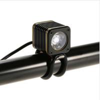 bisiklet far usb toptan satış-Bisiklet LED Ön Işık Ön Gidon Bisiklet Işık 500 Lümen Alüminyum USB Akıllı Bisiklet Bisiklet Far Uyarı Işığı Şarj