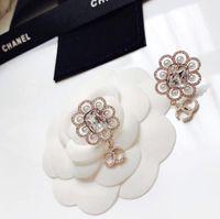 Wholesale cute heart copper earrings online - Bird Earrings Cute Lovely Cool Zircon Pendant Stud Earring Shinning Cubic Stone Young Lady Silver Needle