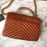 metallgriffe für handtaschen großhandel-VeraStore 24 cm Metallgriff Luxus Handtaschen Frauen Taschen Designer Hohe Qualität Umhängetasche von frauen Berühmte Marken Weibliche viele farben