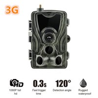 Wholesale sms security cameras for sale - 2019 New G MMS Hunting Trail Camera p Video Transmission Wireless SMS Control Security Camera HC G