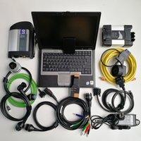 computadores portáteis preços venda por atacado-Melhor Preço 2em1 Laptop usado ferramenta Computer D630 Car Diagnóstico + Mb Estrela C4 SD Ligação C4 SD Compact 4 + Para BMW ICOM PRÓXIMO + 1TB SSD