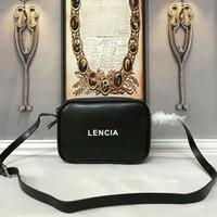 bolso de la cámara de moda al por mayor-BAL bolsos de diseño estilo de la cámara bolsos de cuero genuino hombro cruzado del cuerpo de las mujeres diseñador monedero bolso de mano de la manera