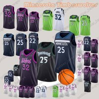 Wholesale rose online - Minnesota Jersey Timberwolves Derrick Rose Andrew Wiggins Karl Anthony Towns Jerseys Embroidery Logos Adult