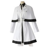 traje uniforme japonês venda por atacado-2019 Anime Japonês Tokyo Ghoul Trajes Cosplay Yonebayashi Saiko Cosplay Trajes de Halloween tokyo ghoul uniforme branco das Mulheres