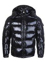 chaqueta de plumas para hombre al por mayor-CALIENTE nuevo diseñador de los hombres ocasional de las mujeres chaqueta abajo abajo cubre para hombre caliente al aire libre Outwear chaquetas Parkas pluma de invierno de los hombres