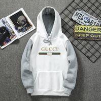 büyük kapüşonlu erkekler toptan satış-Moda Marka Erkekler Hoodies Sonbahar Yeni Erkekler Katı Renk Pamuk Big Cep Kapşonlu Hoodie Erkek Hoodies Sweatshirt Tops