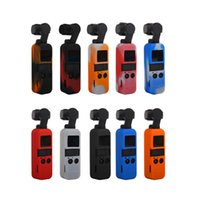 Wholesale OSMO Pocket Silicone Protector Case with Hanging Neck Rope For DJI Osmo Pocket axis Stabilized Handheld Mini Camera