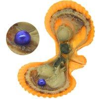 ingrosso pacco colorante rosso-Ostriche di perle confezionate sottovuoto AAAAA # 29 tinte perle d'acqua dolce tonde e ostriche di guscio rosso