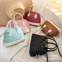 Wholesale version cell phones resale online - Abdb Korean Version Of The Color Shell Bag Ladies Mobile Change Parcel Shoulder Mobile Phone Bag
