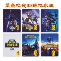 ipad için duruyor toptan satış-Cüzdan Deri Kılıf Oyunu Savaş Royale Ipad 2 3 4 Hava 2 Pro 9.7