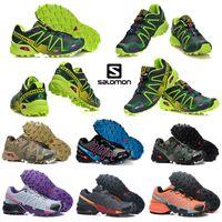 Wholesale table crosses for sale - Group buy 2020 salomon speedcross CS athletic shoes mens women speed cross Black Blue running outdoor hiking sports sneakers